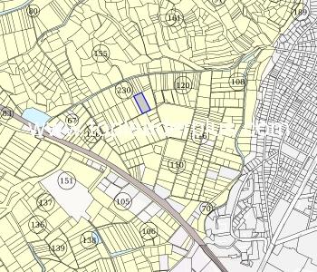 Урегулиран поземлен имот с площ от 4700 кв.м до регулацията на град Сандански