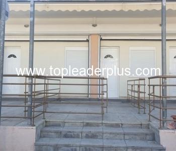 Къща за нощувки с 3 студиа и 1 апартамент в слънчева Неа Каликратия, Халкидики, Гърция