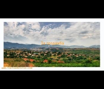 Парцел с проект и разрешение за строеж в село Лозеница , само на няколко километра от гр. Мелник