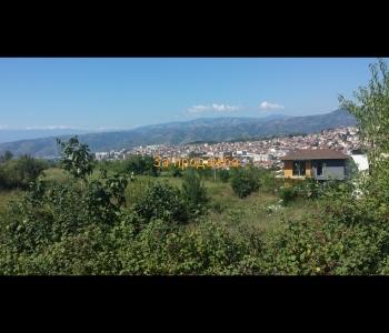Урегулиран поземлен имот с панорамна гледка  към красивия град Сандански